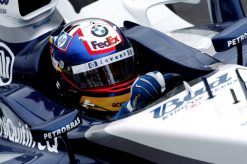Foto Poster Juan Pablo Montoya Helm shot, F1 Williams Team 2004