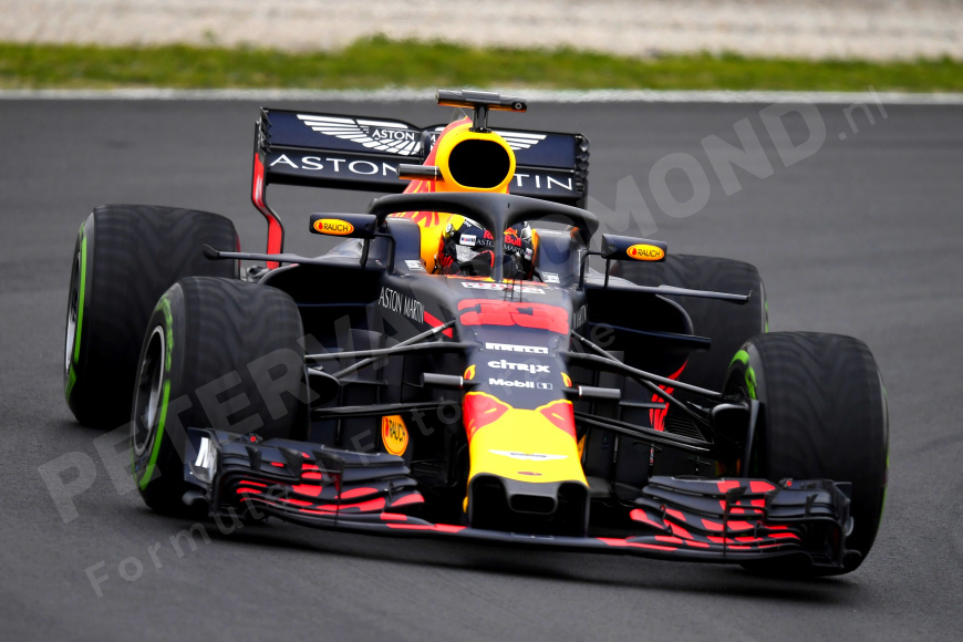 verstappen f1 test de site vol formule 1 foto posters. Black Bedroom Furniture Sets. Home Design Ideas